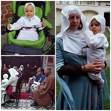 Szatka średniowieczna do chrztu