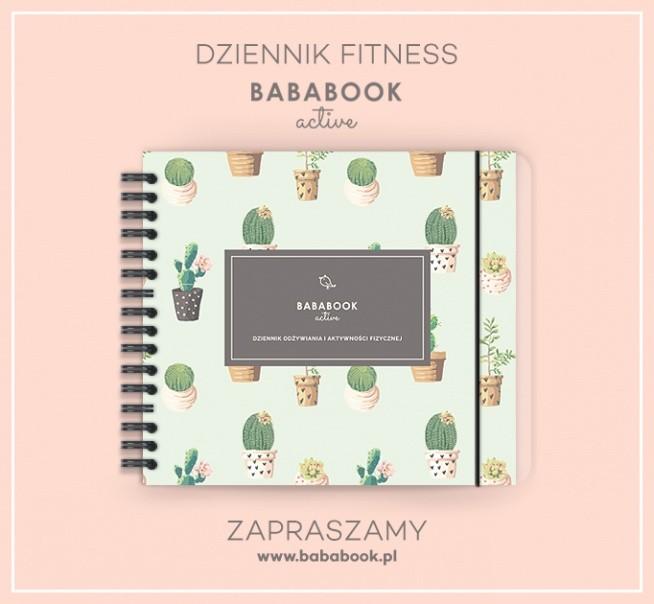 Dziennik Diety / Fitness Planner BabaBook Active