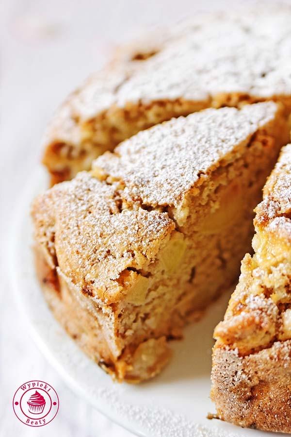 Irlandzkie ciasto z jabłkami - Wypieki Beaty