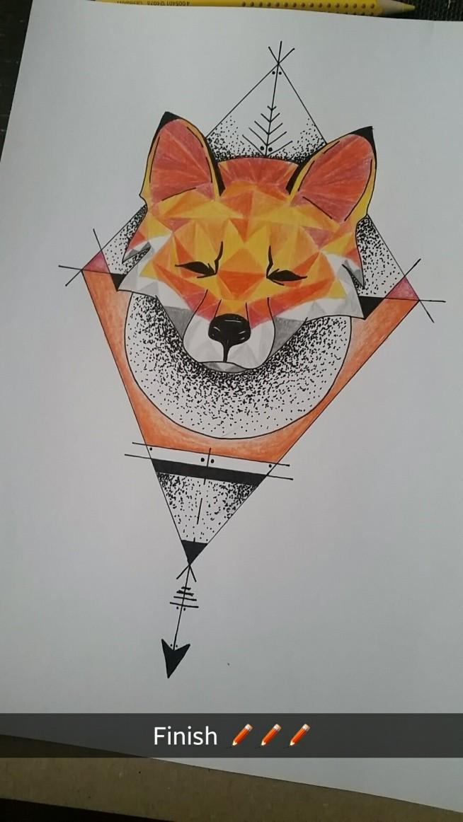 Dobry projekt na tatuaż.