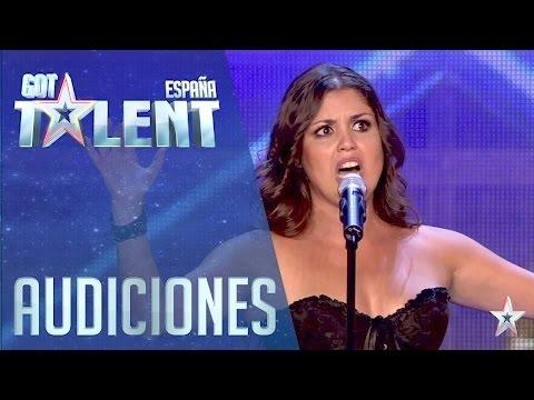 Musicie to zobaczyć do końca!!! ¡Pase de Oro! La ópera y el rock de Cristina | Audiciones 5 | Got Talent España 2016