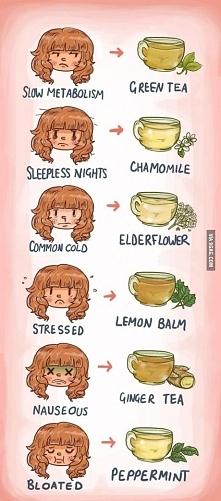 Lepiej pić herbatki niż fas...