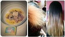 SUPER MASKA!!! Włosy są po niej są miękkie ,odżywione ,lśniące i rosną jak szalone :) Drożdżowa maseczka na włosy .Polecam ! :) Składniki: kostka drożdży ,mleko ,miód,olej lnian...