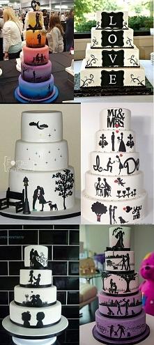 Torty weselne z ROMANTYCZNĄ WIADOMOŚCIĄ! Jak Wam się podoba taki pomysł?