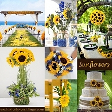 Słoneczniki na weselu!