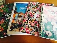piękne zeszyty są teraz w Biedronce :)