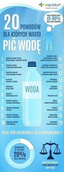 Dlaczego warto pić wodę