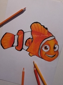 Hej  :) To mój pierwszy post tutaj, stwierdziłam że  będe tu wstawiać moje rysunki także oto jeden z nich :) Jeśli podoba wam się Nemo zaobserwujcie mój profil aby nie ominął wa...