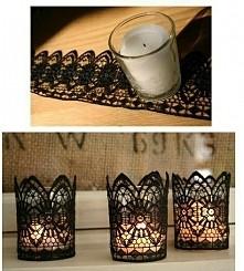 nastrojowe świeczniki
