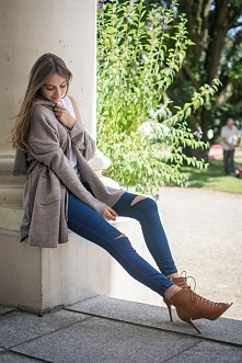 Parka - sweter  - fobya.com