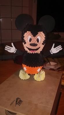Myszka Miki wykonana na konkurs Disney'a ,niestety bez żadnego miejsca :)