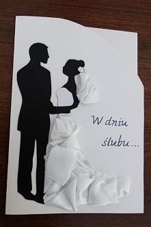 W dniu ślubu...