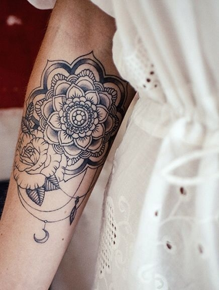 Mandala Na Tattoo Zszywkapl
