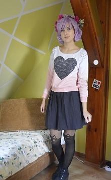 """moja przyjaciółka określiła ten strój mianem """"cukrzyca"""" XD. W sumie trochę miała racje,a wy co myślicie?"""