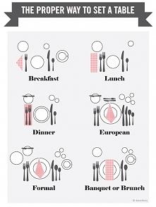 nakrywanie stołu