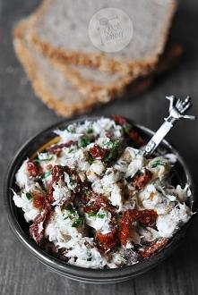 Pasta z makreli z suszonymi pomidorami