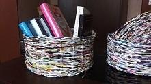 koszyki z gazet np na książ...
