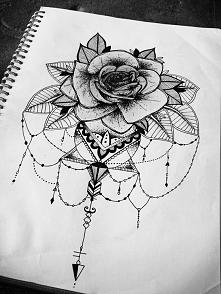 róża/mandala
