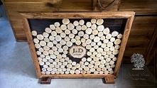 Księga gości Wykonanie ręczne, drewno dąb, brzoza, sosna.