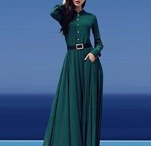 Piękna suknia maxi. Idealni...