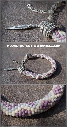 moonsfactory.wordpress.com Bardzo elegancka bransoletka wykonana z koralików toho. Stanowi idealne uzupełnienie na każdą okazję.  Zapraszam do komentarz oraz na blog! moonsfacto...