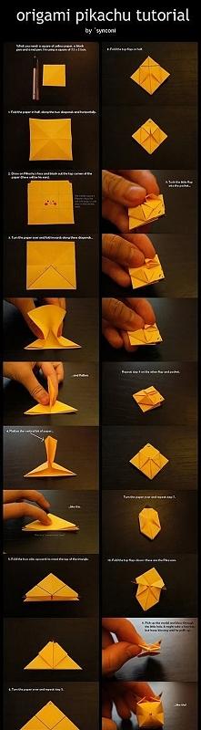 Pikachu na dwa sposoby. :D