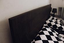 Łóżko z litego dębowego dre...