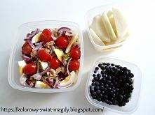 Wiele ciekawych pomysłów na lunchbox do pracy znajdziecie na blogu kolorowy-swiat-magdy