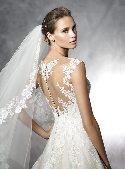 Suknia ślubna Z Motywem Motyla Na Plecach Na Sukienki Zszywkapl