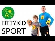 Fajny sposób na spędzenie czasu z dzieckiem :) FittyKid Sport - trening dla m...