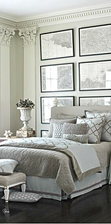 dekoracja łóżka, dekoracja ...