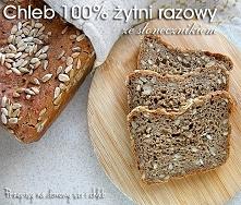 Chleb 100 % żytni razowy