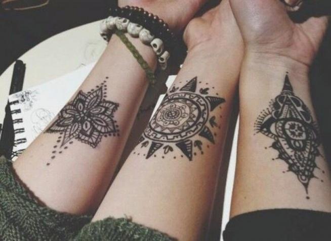 Coś Dla Przyjaciółek Na Tatuaże Zszywkapl