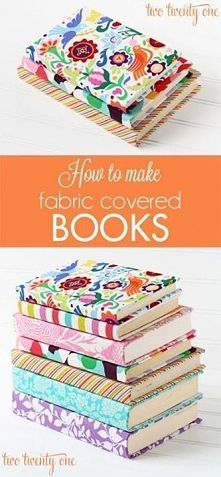 diy textile book covers