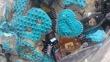 Bukiet z pierniczków na 18 urodziny łączony z alkoholami i super wozem:)