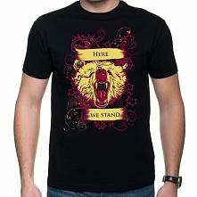 Koszulka Gra o tron Here we stand - House Mormont