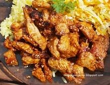 Kurczak teriyaki - błyskawi...