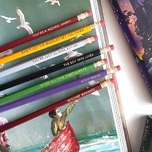 Harry Potter Quote Pencils