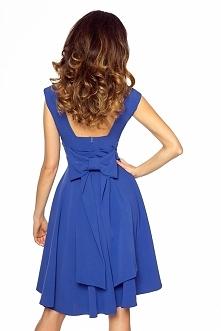 Asymetryczna sukienka z kok...