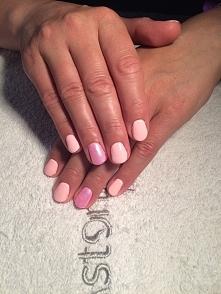 #Hybryda#syrenka#manicure#kombinowany#cały#czas#doszkalam#się