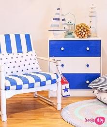Komoda IKEA Rast po metamorfozie - zapraszam na bloga twojediy.pl
