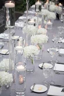 pomysł na dekorację stołu