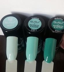 Paletka w odcieniach zieleni i błękitu - Malachite, Insomnia, Blue Tide. Który wybieracie na dziś? :)