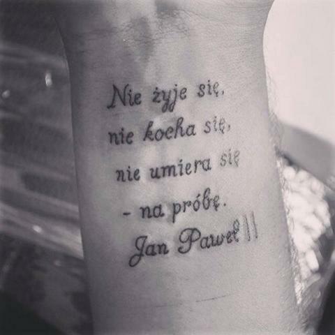 Cytat Jan Paweł Ii Na Cytaty Zszywkapl