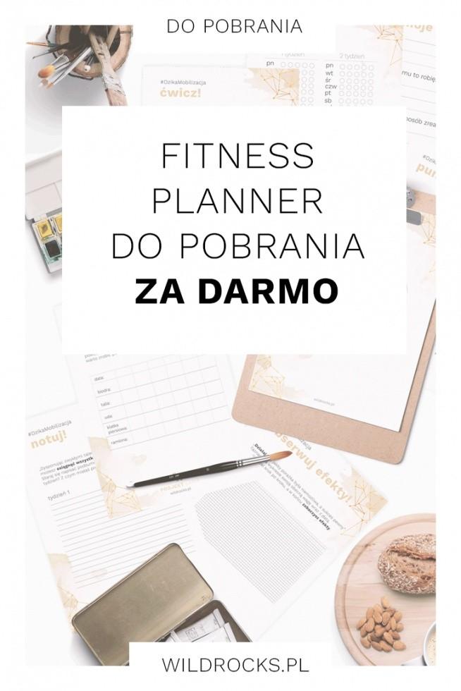 Pobierz darmowy fitness planner który pomoże Ci osiągnąć sukces i wypracować sylwetkę o jakiej marzyłaś. Fitness planner składa się z 8 kart - możesz wykorzystać je wszystkie albo skoncentrować się na konkretnym wyzwaniu. Do pobrania na blogu WildRocks .pl