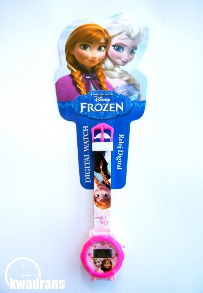 Zegarek na rękę - Elsa i Anna z Krainy Lodu Disneya