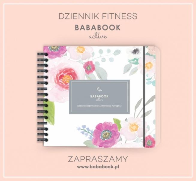 Dziennik Fitness / Dziennik Diety Bababook Active
