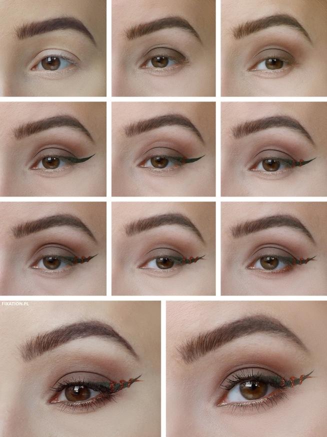 Do Wykonania Tego Makijażu Użyłam Cieni Z Paletek Makeup Revolu Na