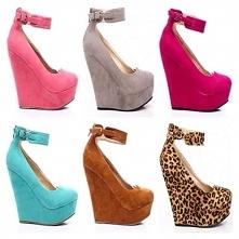 Dziewczyny lubicie buty na koturnie? Które wam się podobają?