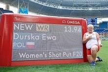 Ewa Durska ze złotem i rekordem świata w pchnięciu kulą!